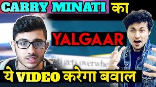 Carry Minati's YALGAAR Teaser Out | This Video Will BREAK All Records | Youtuber Vs Tik Toker