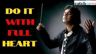 Ace singer A R Rahman's Facts behind his success |  | Motivational Speech | Catch News