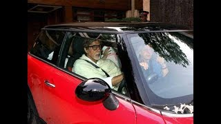 Amitabh Bachchan met with a car accident, escaped unhurt