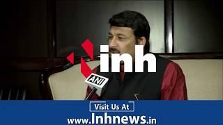 Manoj Tiwari ने कहा जब Rahul Gandhi इस धरती पर आये थे तब ही वो अध्यक्ष बन गए थे
