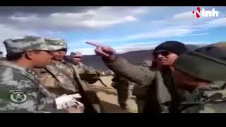 Doklam India-China Issue - China Army Helipad और Camp बना रही है