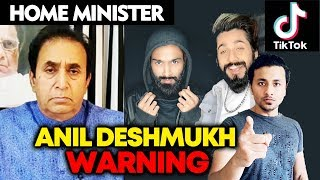 Home Minister Anil Deshmukh REACTS To Recent Video Controversies | Tik Tok, Instagram And More
