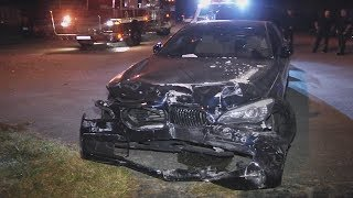 BMW Car Accident:  Stupid Driver Car Accident, BMW India