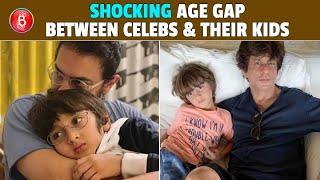Aamir Khan To Shah Rukh Khan - Celebs Having SHOCKING Age Gaps With Their Kids