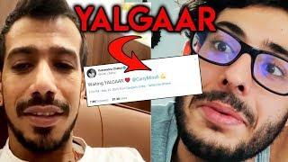 Yuzvendra Chahal Reacts To Carry Minati's YALGAAR; Here's What He Said