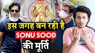 Construction Of Sonu Sood Idol Started In This State - Real Life Hero Sonu Sood