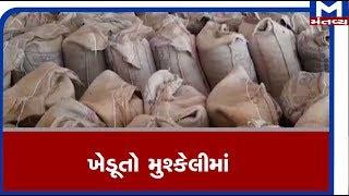 Amreli: માર્કેટયાર્ડમાં ચણાની ખરીદી બંધ થતાં ખેડૂતો મુશ્કેલીમાં