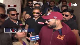 Yuvraj Singh Raipur -Yuvi Said 'We Can Fight Together'