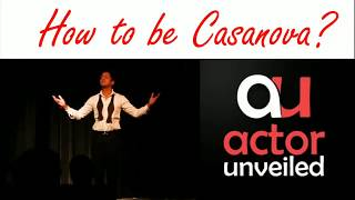 "How To Be A Casanova "" Double Ticket "" 