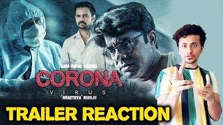 Coronavirus Trailer Reaction | Ram Gopal Varma | Agasthya Manju | #RGV
