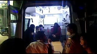 Covid-19 Suspects   14 People Taken To Charminar Hospital From Hyderabad   @ SACH NEWS  