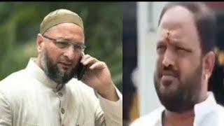 AIMIM Kalia Pehalwan Brother Died Fro Corona | Asad Uddin Owaisi Calls Kalia Pehalwan |