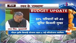 CG Budget 2018 Live Updates For Poors / BPL - BPL परिवारों को 40 यूनिट बिजली मुफ्त