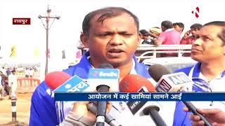 Raipur :  Half Marathon में 50 दिव्यांग एथलिट्स नहीं ले पाए हिस्सा