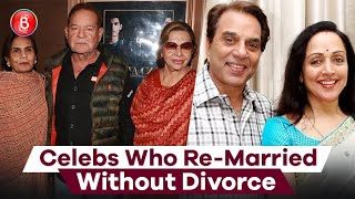 Dharmendra-Hema Malini To Salim Khan-Helen - Celebs Who Got Re-Married Without Getting Divorced