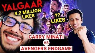 Carry Minati's YALGAAR Teaser BEATS Avengers End Game Trailer; Here's How | Watch Video