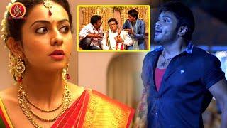 Rakul Preet Singh Escapes From Her Marriage | Comedy Scene | Bhavani HD Movies