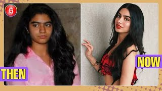 Khushi Kapoor's Before And After Pics Will Show You Her MASSIVE Transformation
