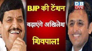 BJP की टेंशन बढ़ाएंगे Akhilesh Yadav - Shivpal  Yadav ! | सपा में हो सकती है शिवपाल की वापसी