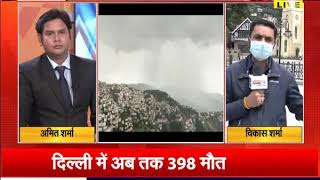 हिमाचल में राज्य मौसम विभाग का अलर्ट, बारिश और ओलावृष्टि की संभावना