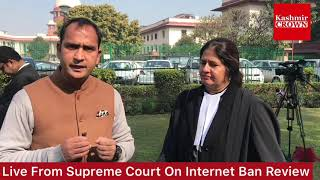 #VirindaGrover:SupremeCourt:Reactions Of Advocates Of Supreme Court On Kashmir Internet Ban.