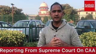 No Stay On #CAA:Supreme Court Of India(Special Report) #supremecourt #CAA #NRC
