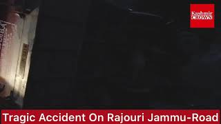 Road accident on Rajouri-Jammu Road,several people injured. #accident #jammu #rajouri