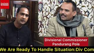 Divisional Commissioner Kashmir Exclusive Live With Shahid imran On Kashmir Crown On Coronavirus