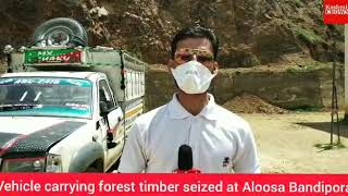 Timber Seized In Bandipora By Police, Special Report From Bandipora