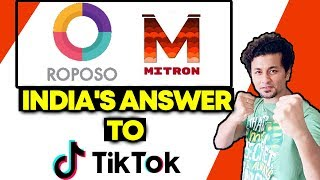 Mitron And Roposo Trends On Social Media |  Indian Tik Tok Version