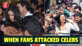When Celebs Like Akshay Kumar, Katrina Kaif, Sushmita Sen Got Attacked By CRAZY Fans