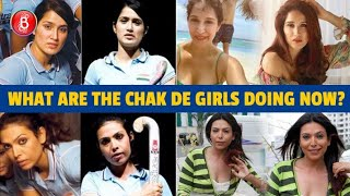 What Are The Girls From Shah Rukh Khan's Chak De India Doing Now? Find Out