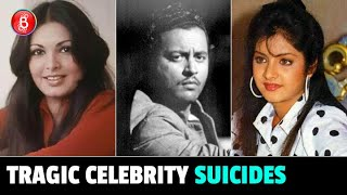Divya Bharti To Guru Dutt To Zeenat Aman - Tragic Suicides Of Bollywood Celebs