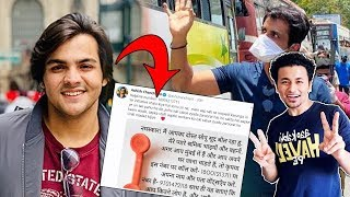 Ashish Chanchlani Supports Sonu Sood; Here's What He Did | Sonu Sood Helping Migrants