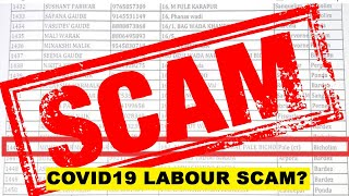 WATCH: COVID19 Labour Scam? Activists Reveal Fake Beneficiaries!