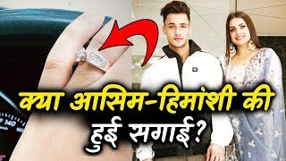 Himanshi Khurana Flashes A HUGE Diamond Ring; Is She ENGAGED To BF Asim Riaz?