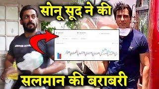 Migrants Hero Sonu Sood Matches Salman Khan's Popularity; Here's Google Proof