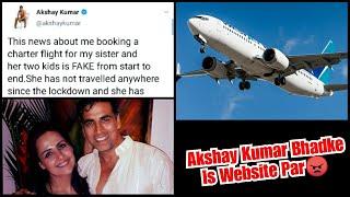 Akshay Kumar Bhadke Is Website Par, Janiye Kyun?