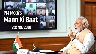 PM Modi interacts with the Nation in Mann Ki Baat | 31st May 2020 | PMO
