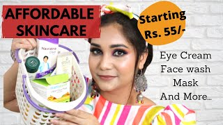 Affordable Skincare That Works Starts Rs.55 + Mini Reviews | Teenagers & Beginners | Nidhi Katiyar