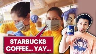 Rashami Desai Finally Gets Starbucks Coffee Amid The Lockdown; Watch Her Reaction