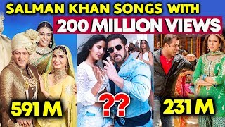 Salman Khan Songs With 200 Million+ Views | Swag Se Swagat, Prem Ratan Dhan Payo, Tere Naam...