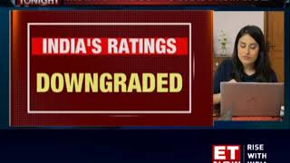 Moody's downgrades India's sovereign rating to 'Baa3', maintains negative outlook