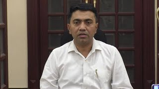 LIVE: Dr. Pramod Sawant, Chief Minister ????
