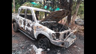 WATCH: Two cars mysteriously catches fire at Canacona
