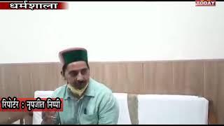 2 june 3 केवल सिंह पठानियां ने सरकार में मंत्री व  शाहपुर की विधायक सरवीण चौधरी पर हमला