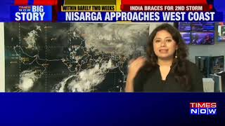 Cyclone Nisarga likely to make landfall near Mumbai on June 3; latest satellite visuals