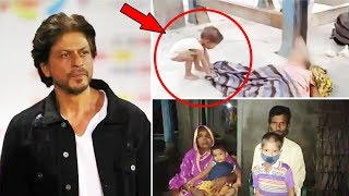 Shahrukh Khan Takes Responsibility Of This Viral Boy At Muzaffarpur Railway Station