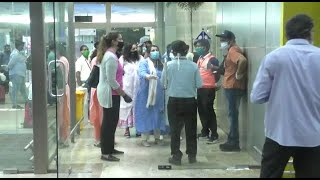 WATCH: High tension drama at airport as Dubai passenger refuse to pay for quarantine facility