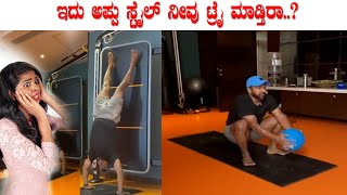 Puneethrajkumar powerful workouts video | Appu new workouts for abs